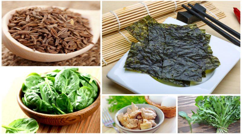 Топ 5 витаминных продуктов