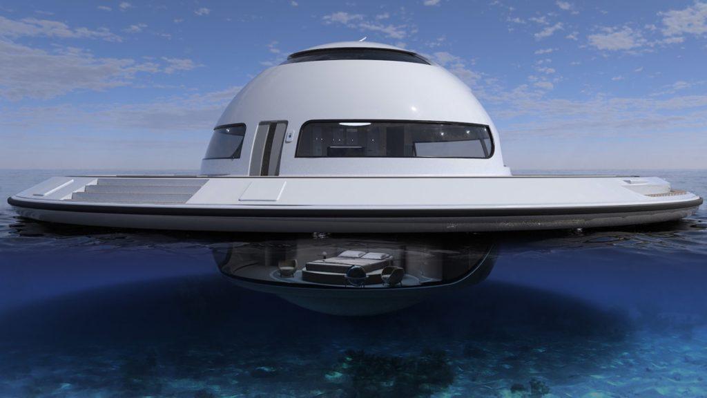 Дом-яхта от Jet Capsule