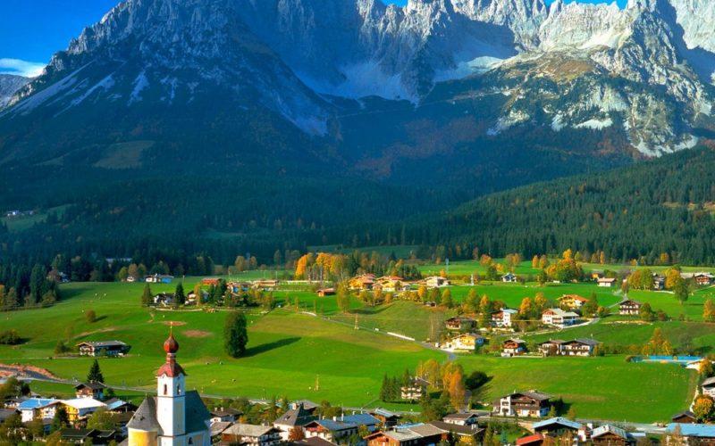 Альпы — Австрия
