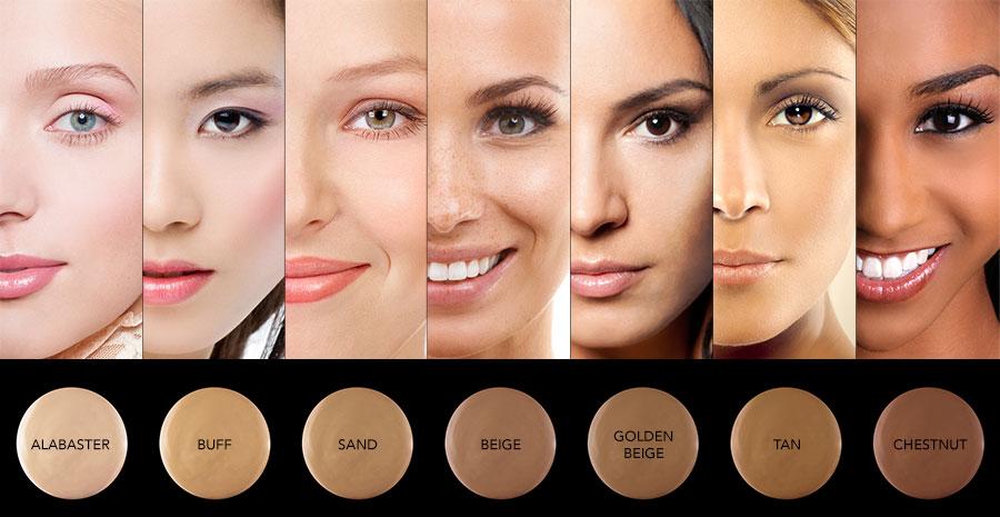 Выбор тональника по цвету кожи