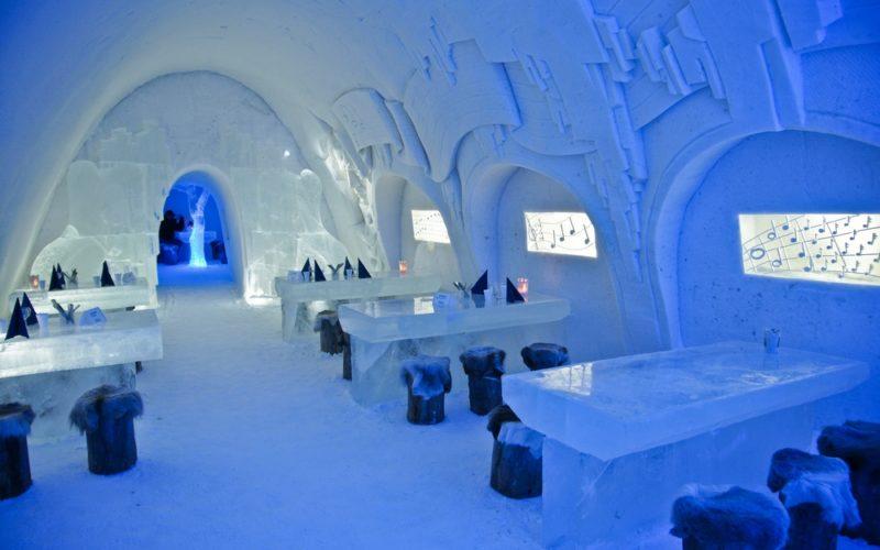 Снежный замок LumiLinna г. Кеми