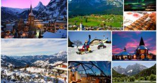 Топ 6 стран для снежного отдыха