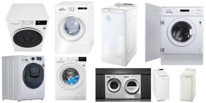 ТОП-9 стиральных машин