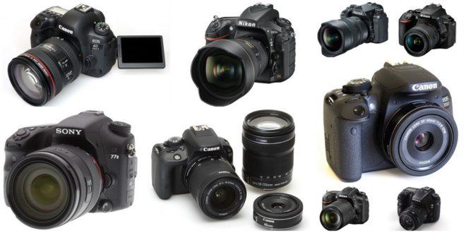 ТОП-10 лучших зеркальных фотоаппаратов 2017-2018