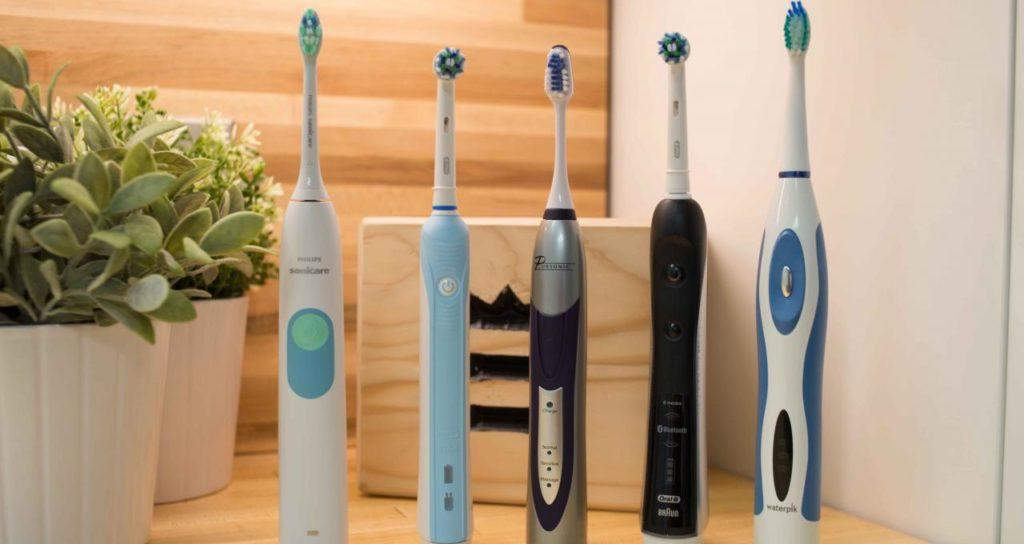 Варианты зубных электрических щеток