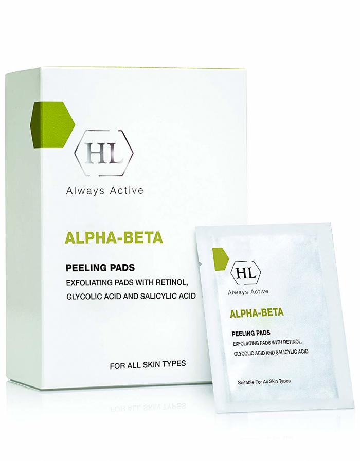 Alpha beta Retinol Peeling Pads Holy Land