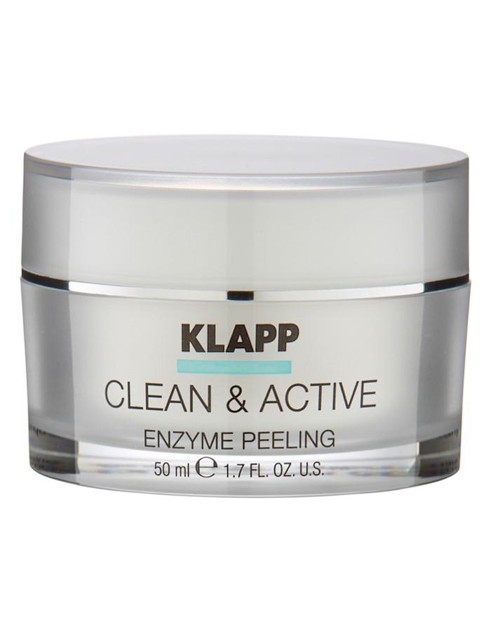 Clean Active Enzyme Peeling Klapp