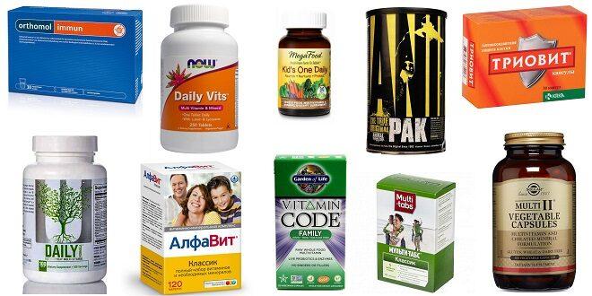 На страже здоровья: ТОП-10 лучших витаминно-минеральных комплексов